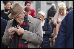 Lighting his pipe (Frank Fullard) Tags: street ireland portrait horse irish galway candid pipe fair smoker ballinasloe fullard frankfullard