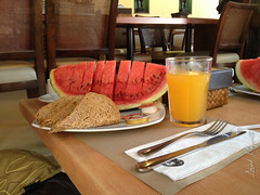 Yummy breakfast! (Arvind Manjunath) Tags: blue sunset beach sand philippines boracay ph iphone 2014 nabas westernvisayas thomsonreuters bluebeaches arvindmanjunath motofotog