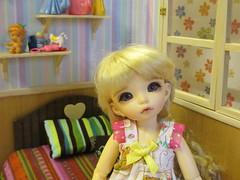 IMG_2412 (Cokydaydream) Tags: bedroom doll tiny bjd fairyland diorama haydée yosd littlefee littlefeeante