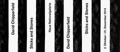 David Chipperfield STICKS AND STONES - Neue Nationalgalerie Berlin (jens.schommer) Tags: wood trees tree berlin sticks stones exhibition architect installation architektur miesvanderrohe opening renovation holz bume baum fichte kulturforum sanierung sulen treetrunks baumstmme neuenationalgalerie sulenhalle davidchipperfield sticksandstones sttzen jensschommer