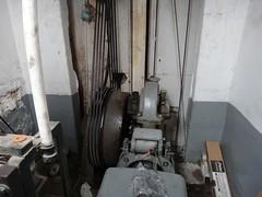 Freight elevator drum (DieselDucy) Tags: nyc newyorkcity newyork vintage otis lift elevator historic ascensor elevador lyfta lyftu