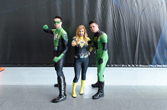 Green Lantern and Unknown Cosplayers (vince.ng86) Tags: green dc cosplay lantern comiccon nycc nycc2014