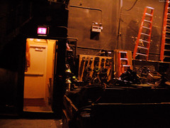 "Ladders backstage at The Pabst Theater • <a style=""font-size:0.8em;"" href=""http://www.flickr.com/photos/34843984@N07/15360654298/"" target=""_blank"">View on Flickr</a>"