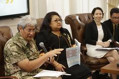 Konferensi Pers di Sela Lokakarya