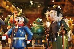 Puppets (Thorsten Reiprich) Tags: city travelling river germany deutschland cycling souvenirs reisen europa europe day hessen tag stadt fluss rhine rhein radtour hesse 2014