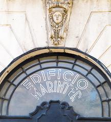 EDIFICI MARINTER (Bernat Nacente Foto) Tags: barcelona blue sky fuji cel melody fujifilm octubre blau 18  herms    edifici x10  2014    nohdr    zoombados x    marinter