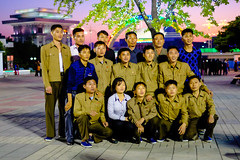 random people at the fun fair (jonas_k) Tags: travel northkorea pyongyang dprk pjöngjang