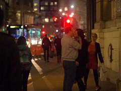 Red Light Kiss (Magic Pea) Tags: street uk london photography kiss