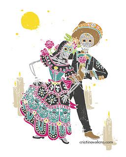Baile-calavera
