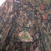 Custom embroidery on a Military Alt.Kilt done up in digital camouflage. http://www.altkilt.com/military