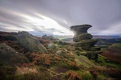 Salt Cellar (Alex Murison) Tags: longexposure walking landscape hiking derbyshire peakdistrict gritstone hopevalley rockformation sigma1020mm derwentedge saltcellar nikond7000