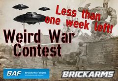BrickArms Forums Weird War Contest - Less than One Week Left! (enigmabadger) Tags: world 2 war lego wwii contest ii german american scifi ww2 sciencefiction custom axis allies brickarms