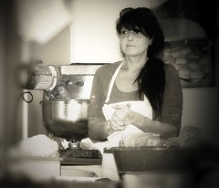 the Cretan kneading-     (mare_maris (very slow)) Tags: city portrait people urban blackandwhite bw food woman cooking face female booth stuffing greek baking interesting hands nikon stainlesssteel nightshot image dough longhair mixer streetphotography images fresh apron explore crispy greece commercial crete pies exploreinterestingness shooting flour glance merchant peopleatwork trader knead thelook cretan streetmerchant bakeryshop womanatwork   cretanwoman femaleface aplaceforportraits whiteapron plainflour beutifulwoman facesthattellastory makingdough piesforsale  womantrader foodmixers professionalmixer october2014 maremaris womanshands kneadinghands finishedkneading openbakeryshop piesfordelivery stuffedpies freshandcrispy fromthelookandsmell  thecretanwomanproject delicaciesofcrete