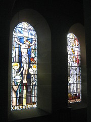 The Crucifixion and The Resurrection Window by Napier and Christian Waller; St Mark's Church of England - Corner Burke and Canterbury Roads, Camberwell (raaen99) Tags: 1920s building window glass saint architecture religious cross suburban jerusalem religion jesus gothic guard australia melbourne stainedglass victoria 1950s 1957 bible suburbs artdeco 50s 20thcentury 1928 stainedglasswindow biblical crucifixion burkeroad stmarks camberwell 20s anglicanchurch resurrection 1927 gothicarchitecture crownofthorns placeofworship gothicchurch churchofengland gospels sonofgod gospelofjohn mourners twentiethcentury melbournearchitecture theresurrection stmarksanglicanchurch religiousbuilding thecrucifixion burkerd churchstainedglass napierwaller romanguard melbournesuburbs stainedglasschurchwindow resurrectionofjesus mervynnapierwaller crucifixionofjesus artdecostainedglass gothicdetail stmarkschurchofengland christianwaller twentiethcenturystainedglass artisticallydesigned camberwellchurchofengland camberwellanglicanchurch stmarkscamberwell
