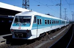 610 020  Nürnberg Hbf  03.05.95 (w. + h. brutzer) Tags: analog train germany deutschland nikon eisenbahn railway zug trains db nürnberg 610 eisenbahnen triebwagen triebzug triebzüge webru