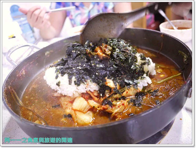 捷運行天宮站美食韓劇韓式料理東輝韓食館土豆豬骨湯銅板烤肉image039