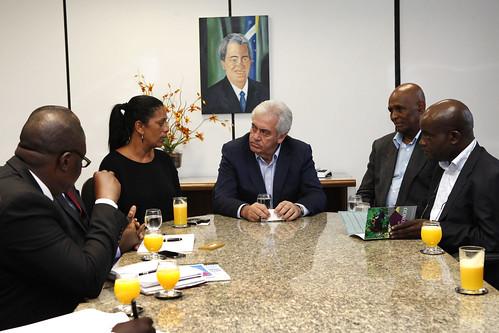 Bahia recebe comitiva da República Democrática do Congo