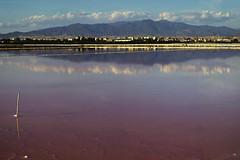 Tramonto al contrario (Matias MasMentiras) Tags: montagne nuvole estate rosa acqua saline pomeriggio