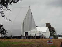 The Tent (Mr Cheerful) Tags: scientology cult anonymous ias eastgrinstead sthill ias2014