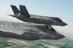 F-35Bs in Formation (Lockheed Martin) Tags: lockheedmartinaeronauticsphotobylizkaszynskicarroll207104 az05232013approvedunderjpodocumentjsf13667 lockheedmartinaeronauticsphotobylizkaszynskicarroll2071043documentyumaferrybf23bf26ferrytoyumayuma