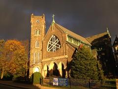 Church in Bryn Mawr (sfPhotocraft) Tags: church pennsylvania pa stormclouds brynmawr 2014