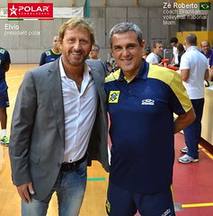 Brasil Coach with Prresident