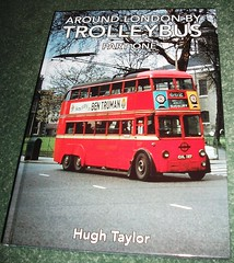 Around London by trolleybus part one  Hugh Taylor (Ledlon89) Tags: bus london buses book transport surrey lt weybridge trolleybus londonbus brooklands vintagebuses lte londonbooks londonbusmuseum transportbooks