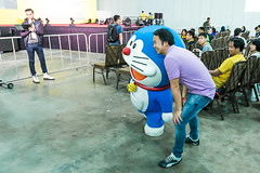 Doraemon (Jimmy Chuah) Tags: portrait anime singapore comic cosplay manga doraemon coser 2014 marinabaysands marinabaysand stgcc