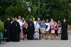 Молодежный отдел поздравил Высокопреосвященнейшего Агафангела с Днем его Рождения