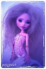 Lumiel : MH Draculaura (Meludoll) Tags: make up monster full custo hight nomyens
