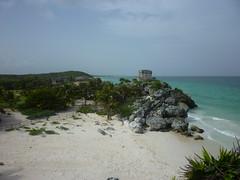 P1020403 (ferenc.puskas81) Tags: ocean sea beach america mexico temple riviera mare maya god central july tulum playa winds spiaggia 2010 oceano centrale messico luglio tempio