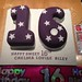 Purple Themed 16th Birthday Cake