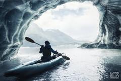 Surrounded (bgspix) Tags: lake ice alaska landscape photography kayak glacier anadyr ef1740mmf4lusm canoneos5dmarkiii bgspix