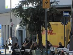Space Invader KLN_23 (tofz4u) Tags: street people streetart caf bar germany tile mosaic spaceinvader spaceinvaders terrasse cologne kln invader rue allemagne dhl deutchland mosaque bistrot artderue kln23