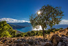 View of Psatha (Vagelis Pikoulas) Tags: blue autumn trees light sunset sea sky sun mountain mountains west colour tree green beach nature water grass rock canon landscape eos lights october rocks europe exposure day niceshot afternoon view zoom saturday tokina greece western x4 2014 attiki vilia psatha 1116mm