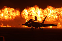 Playing with fire (3rdID8487) Tags: california usmc night fire us marine unitedstates navy airshow hornet blueangels usnavy marinecorps fa18 2014 superhornet mcasmiramar walloffire marinecorpsairstationmiramar 3rdmarineaircraftwing 3rdmaw 2014miramarairshow