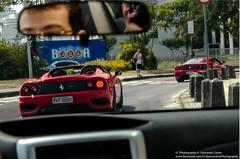 360 combo (LC Automotive Photography) Tags: spider nikon meeting 360 ferrari subaru modena wrx rolling v8 worldcars d5100 nikond5100 exoticsbrazil exoticosnorio