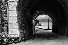 verso la sicilia (~pierpalol) Tags: street sea white black photography mare pipe streetphotography tunnel di lantern scilla calabria bnw galleria sicilia messina reggio stretto 500px calabrian ifttt