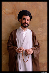 A mullah in the mosque, Esfahan (Dan Wiklund) Tags: portrait man male iran islam middleeast persia shia esfahan mullah d800 2014
