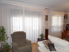 "Cortinas con Fruncido ancho • <a style=""font-size:0.8em;"" href=""http://www.flickr.com/photos/67662386@N08/15650338771/"" target=""_blank"">View on Flickr</a>"