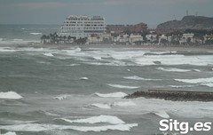 """Sitges Bay Storm • <a style=""""font-size:0.8em;"""" href=""""http://www.flickr.com/photos/90259526@N06/15709604172/"""" target=""""_blank"""">View on Flickr</a>"""