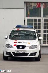 Seat Altea XL Barcelona 2014 (seifracing) Tags: barcelona cars spain europe cops event emergency spotting policia barcelone ecosse 2014 emergencies seifracing
