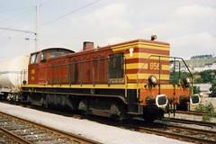 CFL Diesellocomotive N 856. (Franky De Witte - Ferroequinologist) Tags: de eisenbahn railway estrada chemin fer spoorwegen ferrocarril ferro ferrovia