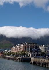 Cape Town Tablecloth (jcbkk1956) Tags: africa clouds southafrica harbour capetown tablecloth tablemountain worldtrekker