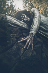 Keeper of the crypt (Clinton lofthouse Photography) Tags: monster wall photoshop location horror undead risen nightgown nightmares darkart horrorphotography darkfairytale