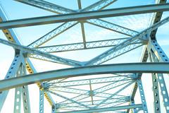 Sunrise Over the Mississippi River Bridge (chandlerchristian) Tags: bridge sunrise louisiana neworleans bridges crescentcityconnection mississippiriverbridge