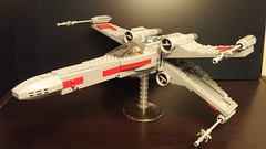 Luke's Incom T-65 X-Wing Starfighter (DJ BaLaLaWa) Tags: lego xwing lukeskywalker moc