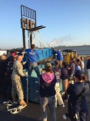 Connecticut National Guard (The National Guard) Tags: nationalguard national guard ng guardsman guardsmen soldier soldiers airmen airman us army air force united states america usa military troops 2016 connecticut ct ctng forklift operator safely transport plane coast manatee
