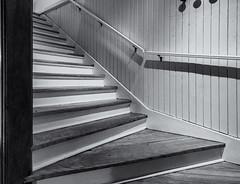 Stairway #  XCVIII  .... ; (c)rebfoto (rebfoto) Tags: stairway steps stairs goingup bw rebfoto