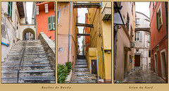 Ruelles de Bastia 1 (Xtian du Gard) Tags: bastia corse france rues street triptyque triptych
